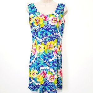 Jams World USA Hawaii Floral Dress Size Medium